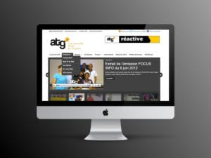 Conception de site internet : ATG